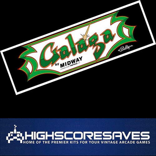 galaga free play and high score save kit