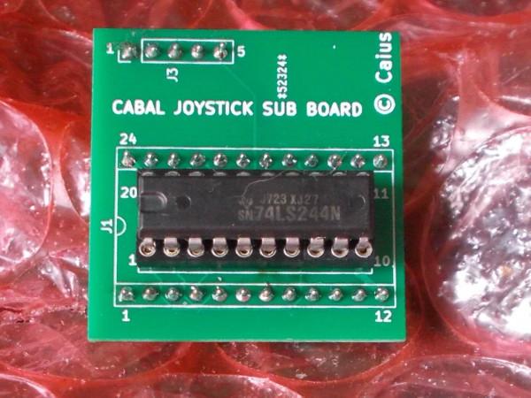 Cabal Joystick Sub PCB Reproduction