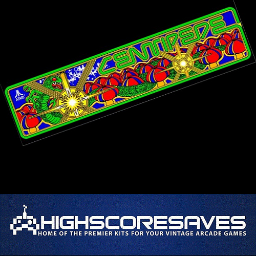 centipede free play and high score save kit