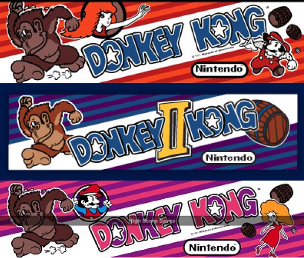 donkey kong high score save kit and free play