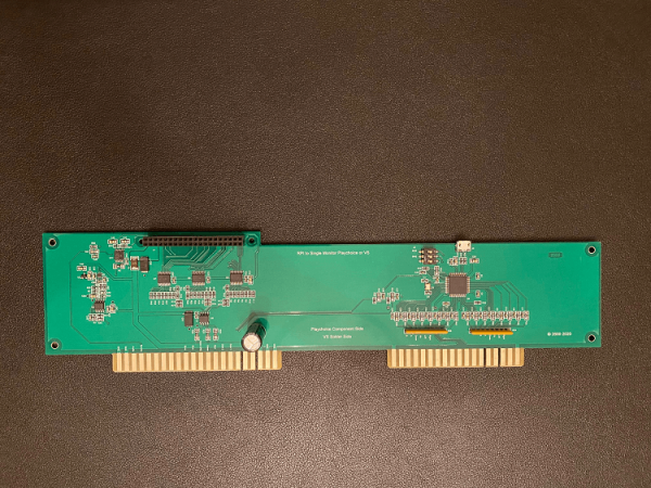 Raspberry PI to Single Monitor Playchoice or VS Adapter