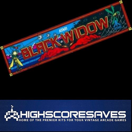 black widow free play and high score save kit