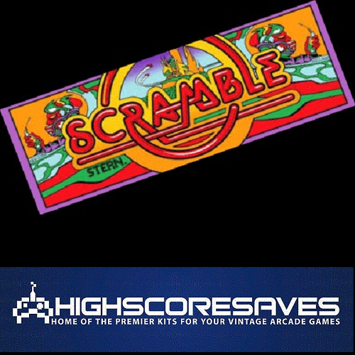 scramble free play and high score save kit