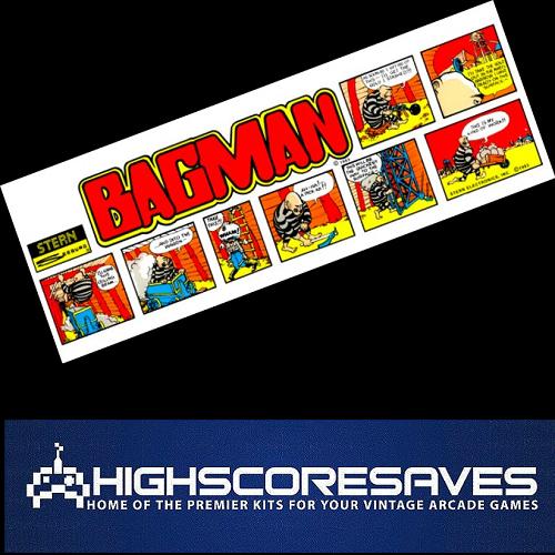 bagman free play and high score save kit