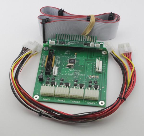 VS Unisystem 4 in 1 Selector (Single Monitor)