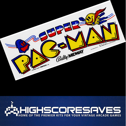 super pacman free play and high score save kit
