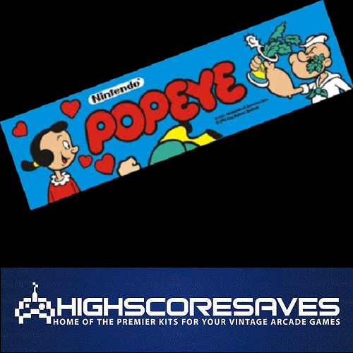 popeye free play and high score save kit