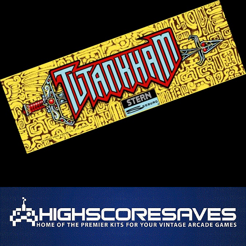 tutankham free play high score save kit