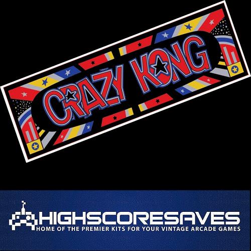 crazy kong high score save kit