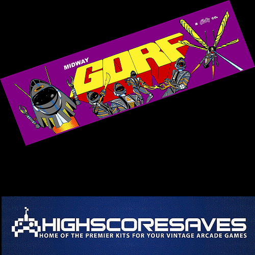 gorf free play and high score save kit