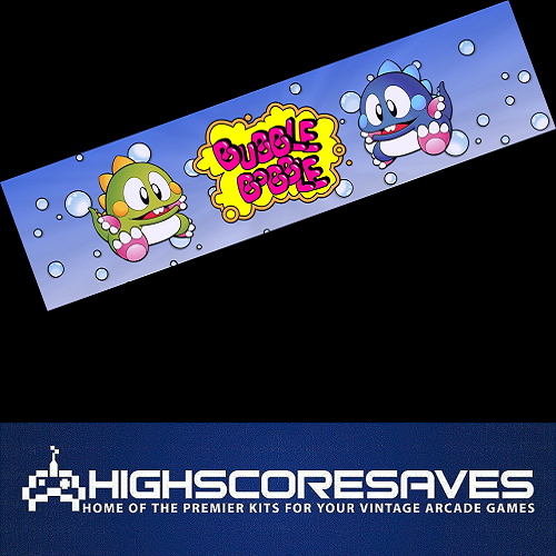 bubble bobble FREE PLAY AND HIGH SCORE SAVE KIT