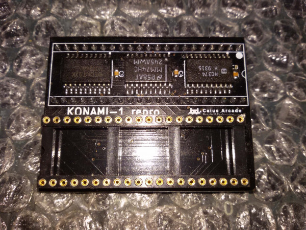 Konami-1 reproduction (no 6809E CPU included)