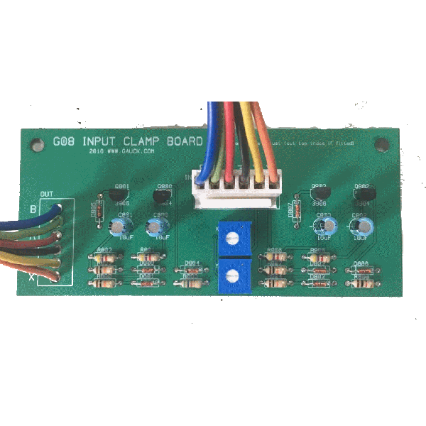 Electrohome G08 Input Clamp Board