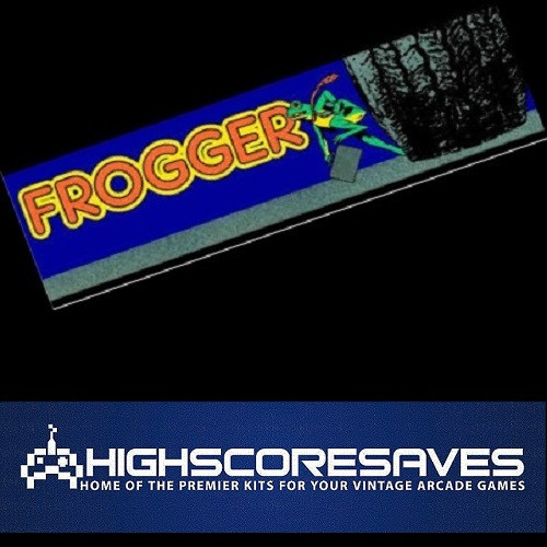 frogger free play and high score save kit