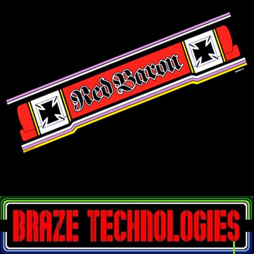 Braze Red Baron Free Play and High Score Save Kit