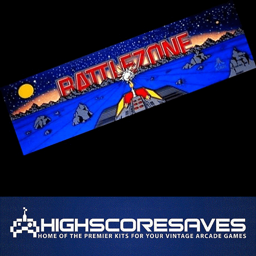 Battlezone Free Play and High Score Save Kit