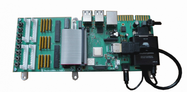 4 Player Arpicade JAMMA adapter