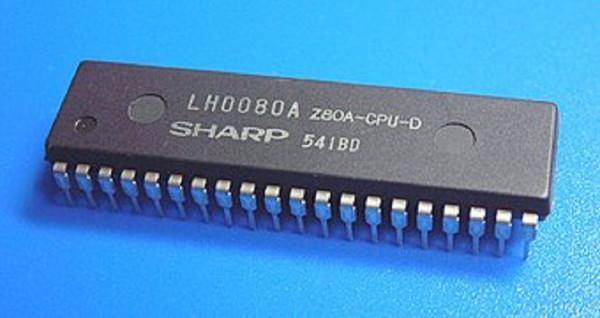 Z80A CPU Processor