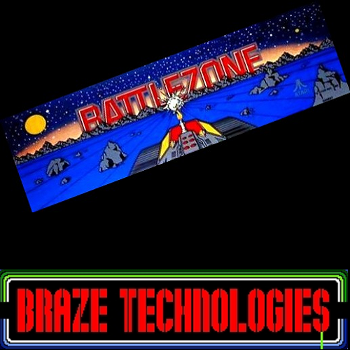 Braze Battlezone Free Play and High Score Save Kit