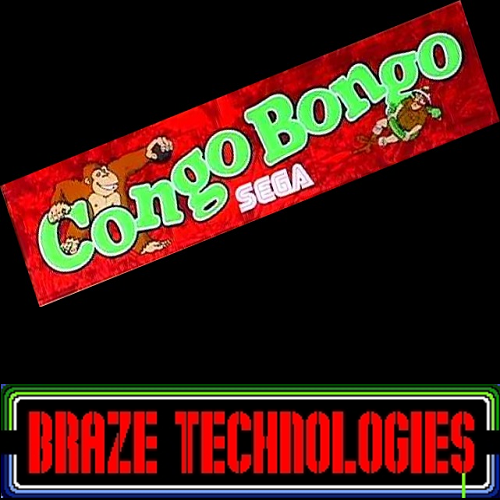congo bongo high score save kit