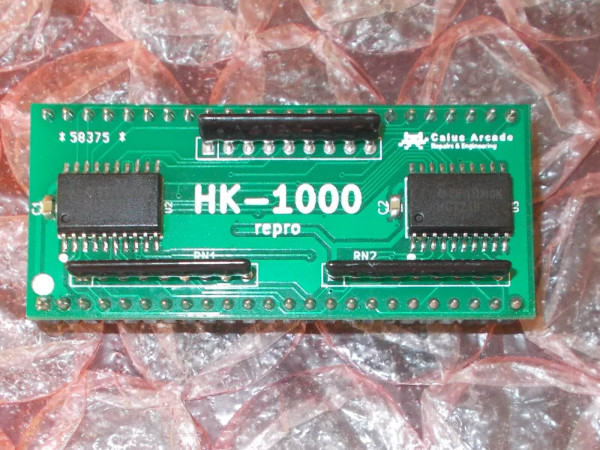 Toaplan 'HK-1000' reproduction