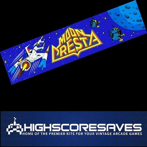 moon cresta free play and high score save kit
