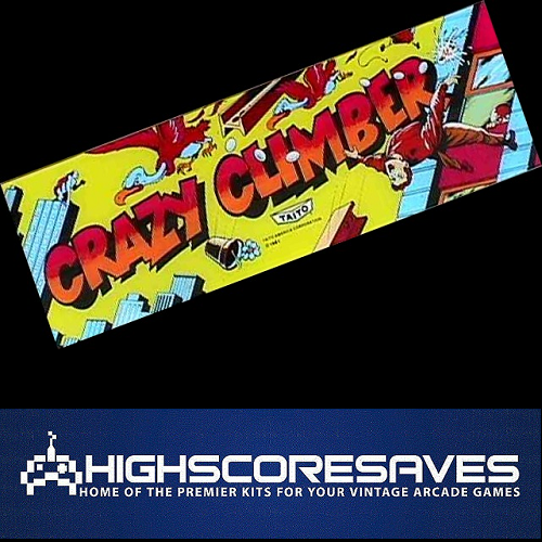 crazy climber free play and high score save kit