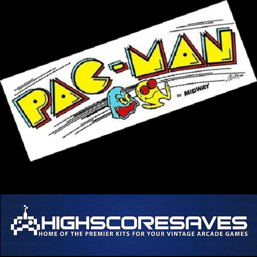 pacman free play and high score save kit