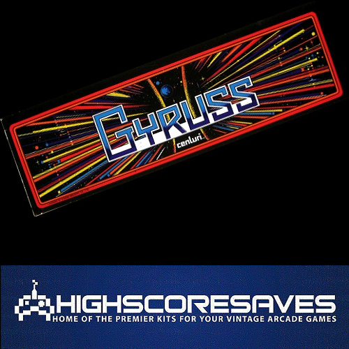 gyruss free play and high score save kit