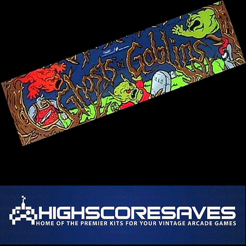 ghosts n goblins free play and high score save kit